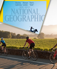 National Geopgraphic, Travel , Napa Valley Cycling